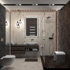 Ванная комната с приятным контрастом