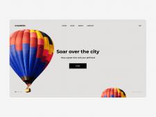Прокат воздушных шаров | Концепция сайта