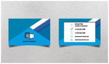 Дизайн визитки для программиста