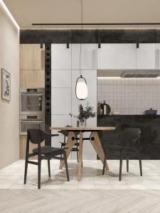 Кухня-студия. Загородный дом
