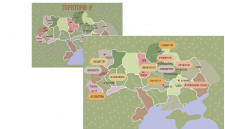 розробка центрів Ремесел України на карті.
