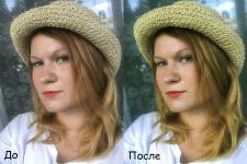 Цветокоррекция, ретушь, устранение дефектов кожи