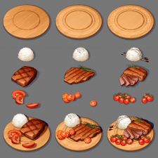 Концепт блюда