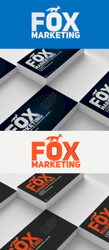 Логотип: Fox Marketing (Конкурс)