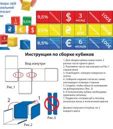 Разработка дизайна кубиков для VTB-банка