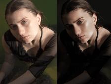 ретушь, цветокоррекция и частотное разложение