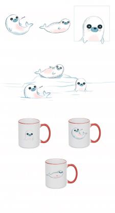 Принт на чашки