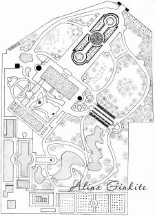 Ландшафтный дизайн, план