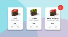 Первая страничка Sushi