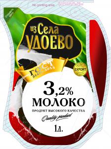 Упаковка на молоко в кувшине