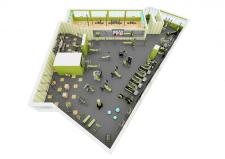 Спорт-клуб 2 этаж