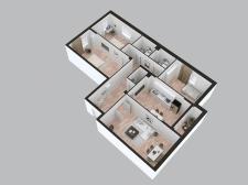Апартаменты | Аксонометрическая схема