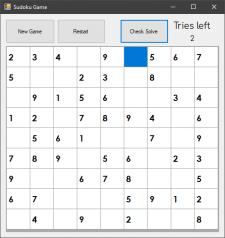 Sudoku C++ CLI