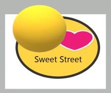 Логотип для уличной сети торговли выпечкой