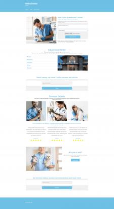 Design Main Page (Wordpress Storefront Template)