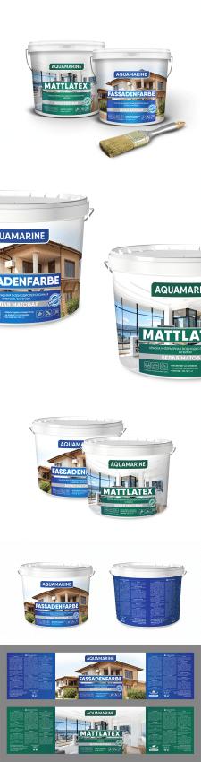 Серия упаковок для ТМ Aquamarine