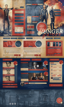 The Hunger games fan-site