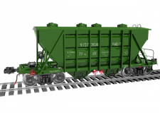 3д моделирование вагона в 3Ds Max