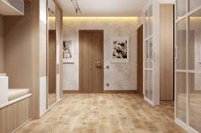 Дизайн итнерьера коридора