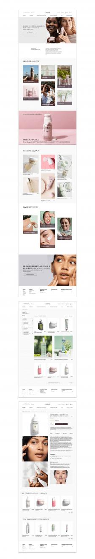 Редизайн сайта уходовой косметики Caudalie