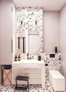 Детская ванная комната / Дизайн квартиры в Одессе