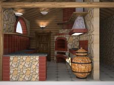Дизайн кухни для ресторана