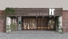 3д моделирование фасада магазина и витрины