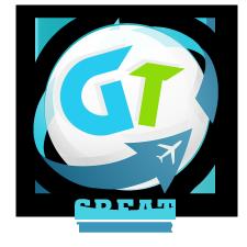 Логотип для Youtube канала Great Traveler