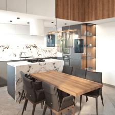 Дизайн интерьера квартиры 120м2 в г. Москва.