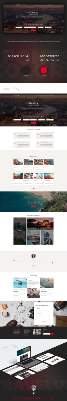 TravelUp Template