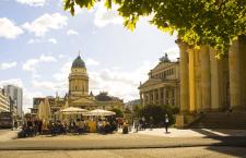 Фото «Жандарменмаркт площадь в Берлине»