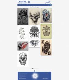 Сайт с эскизами тату Designs DuBuddha