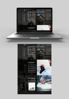 Дизайн сайта для mywebss.ru