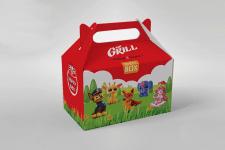 "Дизайн коробки для детского меню ""mr. Grill"""