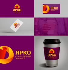 """Логотип на конкурс """"Ярко"""""""