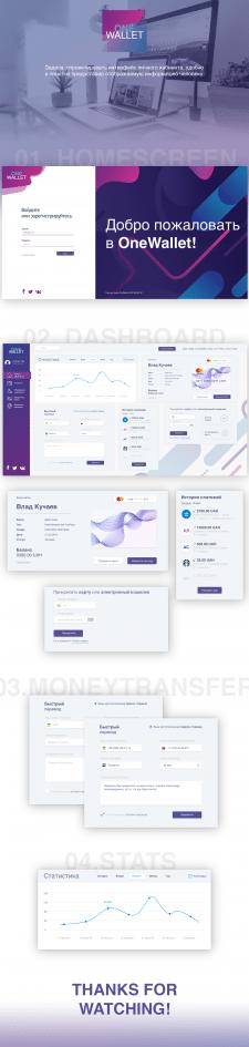 OneWallet — Dashboard