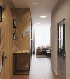 Дизайн интерьера квартиры под аренду в г. Москва.