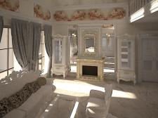 Разработка интерьера гостиной ( по желанию заказч