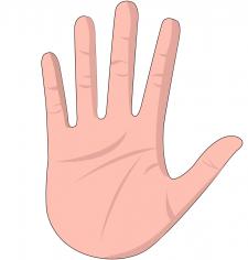 Мультяшная рука