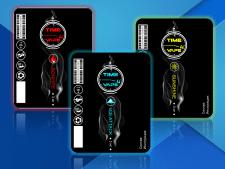 Этикетка для  жидкости для электронных сигарет
