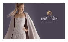 Логотип для проката платьев