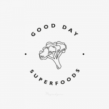 Logo and Packaging Design for Good Day Superfoods