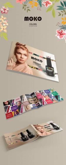Брошюра для украинского бренда MOKO