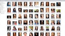 база фото людей(лицо, портрет, мужчины, женщины)