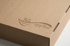 логотип интернет-магазина здоровой и полезной еды