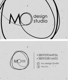 Визитка для дизайн-студии