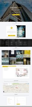 Дизайн сайта бизнес-центра