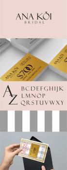 Ana Koi bridal identity