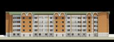 5-ное жилое здание-фасад