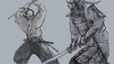 samurai sketch